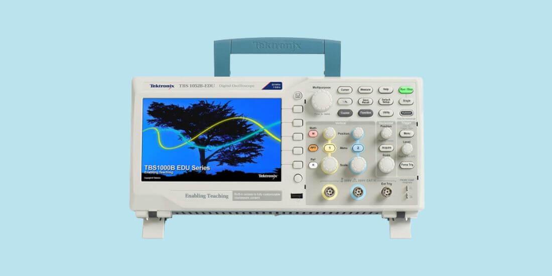 Guide of Tektronix oscilloscope